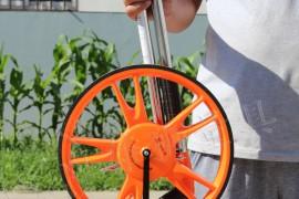 图解测距轮使用方法