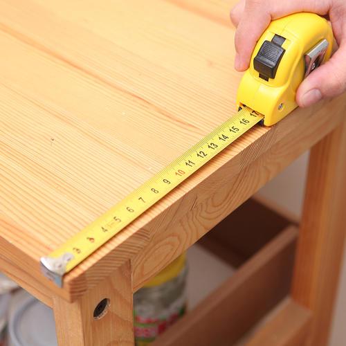 钢卷尺测量