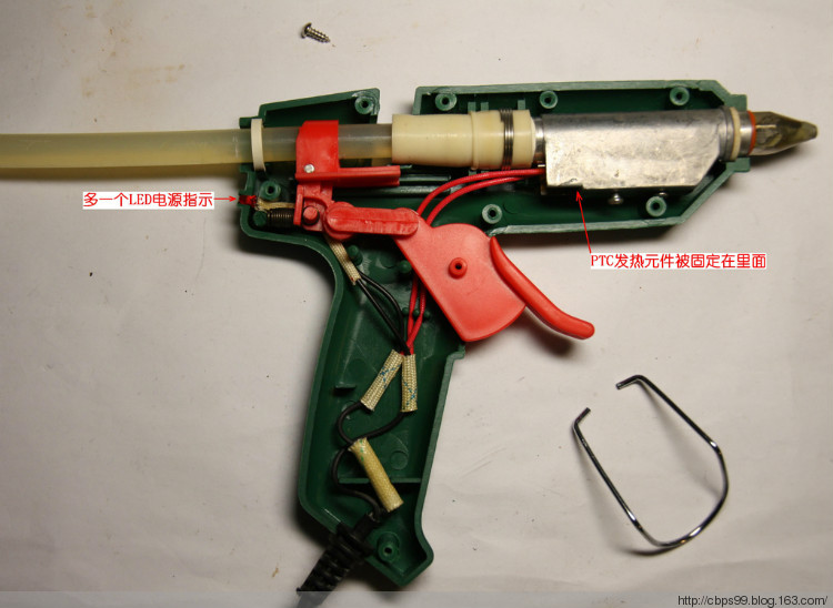 大号的胶枪也拆开