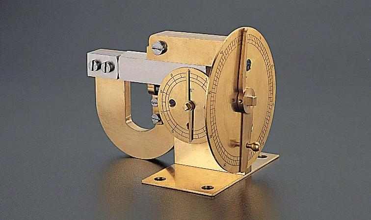 James Watt的台式千分尺 (复制品)