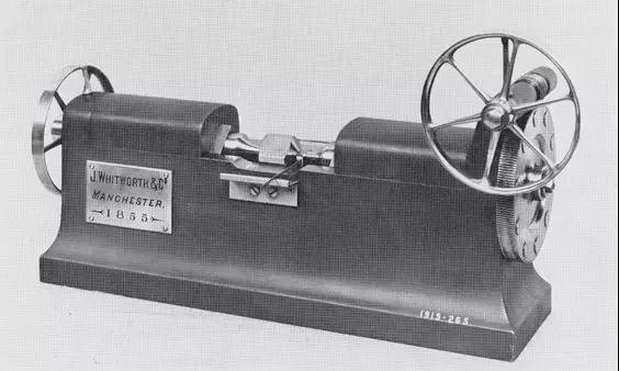 "Whitworth爵士的"" 百万分之一英寸"" 测量设备"
