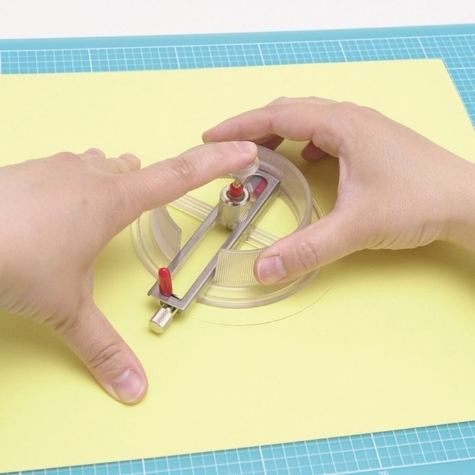 切圆器的使用方法
